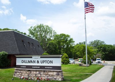 Dillman and Upton Sign