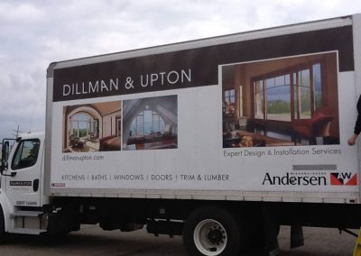 Dillman and Upton Truck