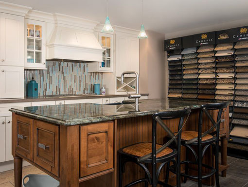 dillman and upton kitchen with countertop selection
