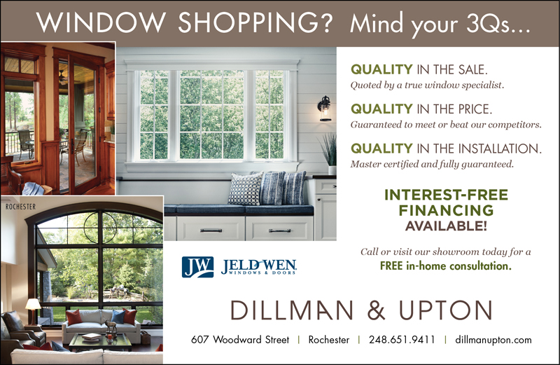 Window Shopping? Mind Your 3Q's.