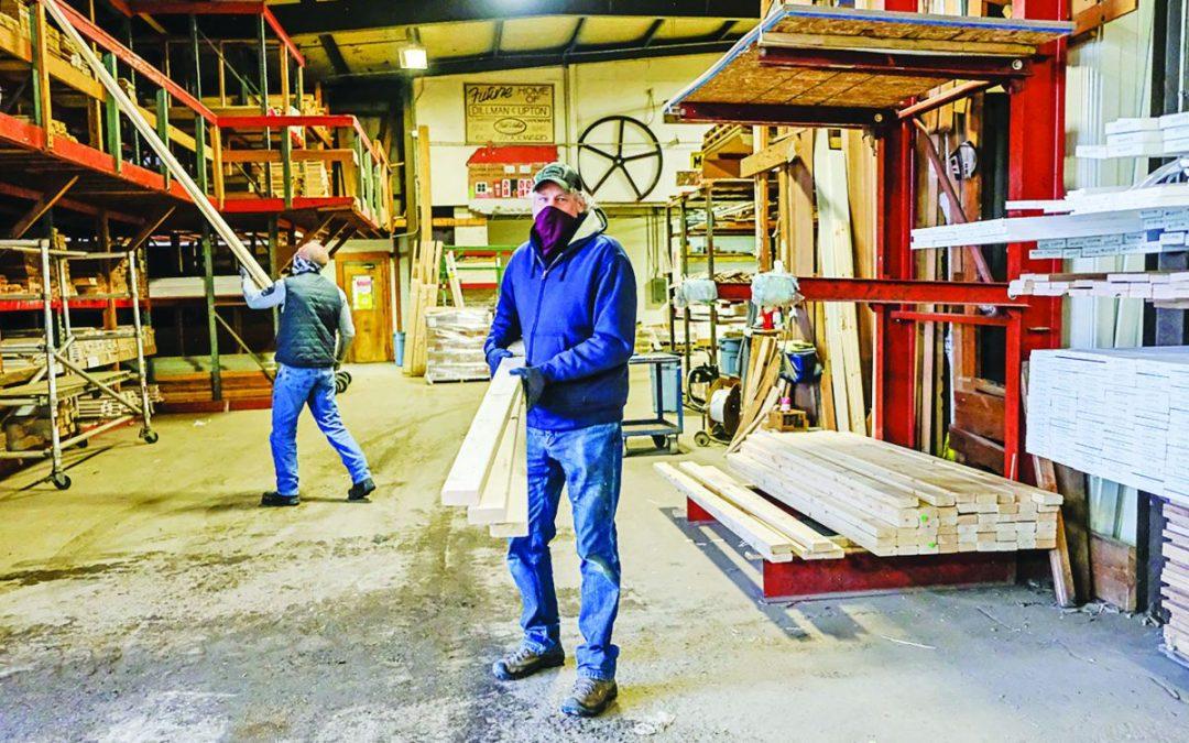 Homebuyers, renovators battle 'unprecedented' lumber costs